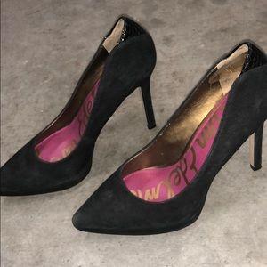 Sam Edelman black pointed heels